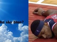 实在太 Blue 了!连 10 场砍 40 分的比赛球队都落败, Beal 输到崩溃,激问媒体:「天空是蓝的吗?」