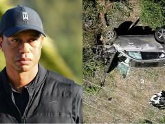 翻车外加车头、尾全毁!美国高尔夫名将 Tiger Woods 发生重大车祸