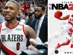 It's 「DAME Time」!拓荒者明星后卫「Damian Lillard」宣布将成为第一位《NBA 2K21》封面球星!