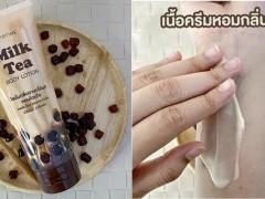先是披萨又是拉麵!泰国美妆品牌 MISTINE 又推出一款超奇葩「珍奶乳液」!网友:真添加红茶牛奶?