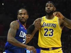 NBA  「詹皇」LEBRON JAMES 对阵大多球员都有心理优势,唯独那个不笑的男人不在此列?
