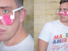 看感人电影终于不用再抓大把大把的卫生纸了!这款「海绵眼镜」绝对是爱哭鬼必备品!