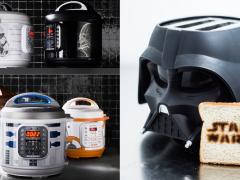 星战迷用原力煮饭必须的吧?让《Star War》充满你家厨房!一系列星战联名厨具,快煮锅、爆米花机一定要收!
