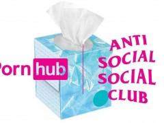 明天发售!PornHub x Anti Social Social Club「联名卫生纸」尻出潮流味!