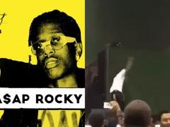 这次没有勾芡! A$AP Rocky 在上海 INNERSECT 潮流展的演出中狠狠 Mic drop