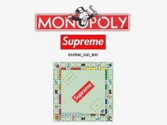 Supreme x Monopoly 或将推出大富翁联名桌游?!「机会」、「命运」的翻牌选项会有免费 Box Logo Tee 吗?