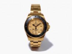 "Bamford Watch Department 打造 Rolex ""BAPE Black Line"" 式样腕錶"