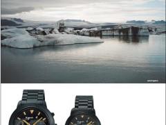 法式优雅 agnes.b 推出世界地图情侣对錶