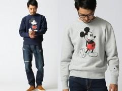 将米老鼠穿在身上吧!Champion X BEAMS X Mickey Mouse 2015秋冬联名系列