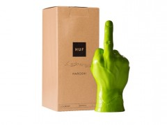 挑衅意味十足!HUF x Haroshi Vinyl Middle Finger 中指艺术