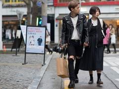 韩国 2015 街头街拍大汇集,穿搭灵感袭捲而来