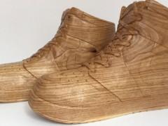经典 x 艺术大玩混搭风! Air Jordan 1 木雕版本