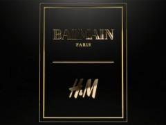 平价时尚震撼弹!H&M x Balmain联名设计师系列