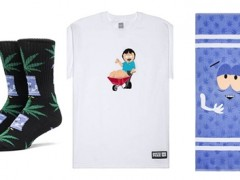 HUF X SOUTH PARK大麻日纪念系列,沉浸在大麻的迷幻世界