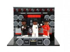 "LEGO玩偶真是谁都能扮!LEGO Ideas Project ""Run-D.M.C."""