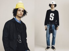 Stussy 2014秋季男装系列造型穿搭LOOKBOOK