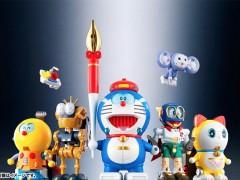 """哆啦A梦‧变身!藤子‧F‧不二雄笔下 """"6英雄"""" 超合金SF机器人化"""