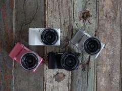 最轻小APS-C可交换镜头数位相机 Sony α5000
