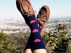 Happy Socks 2014 春夏缤纷色彩的裤管下协奏曲