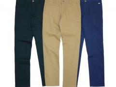 冬天穿什么裤款有型又舒适?Filter017 EMBROIDERY SLIM FIT PANTS绝对是首选啦!