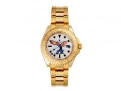 奢华中带有童趣!Dr. Romanelli x Bamford Watch Department黄金版大力水手Yachtmaster錶款