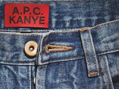 A.P.C. x Kanye West首次携手联名 'A.P.C. KANYE' 系列抢先公开