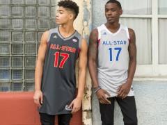 谢幕之作 ‧ adidas basketball 发表 2017 NBA 全明星赛球衣