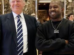 2016 年与 2024(?) 年美国总统 Donald Trump、Kanye West 同框亮相!