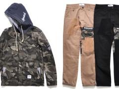 不可或缺的定番!SQUAD迷彩M65外套&拼接工作裤