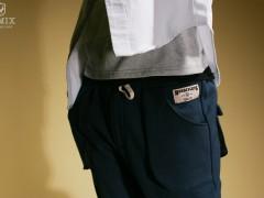 Remix Stereoscopic Sweat Pants 舒适保暖八分裤款