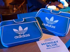 adidas Originals Monday BLUE演唱会甩掉蓝色忧郁
