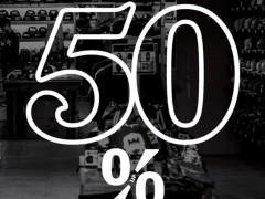 SQUAD美国街旗舰店改装全面五折起 满五千再送后背包