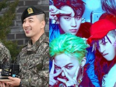 温暖阳光和欢乐笑声回来了!BIGBANG 太阳 与 大声 灿笑齐退伍还準备「小惊喜」给粉丝们!