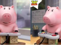 还原《玩具总动员》片段!「电玩火腿猪」呆萌收藏饰品必须预购!