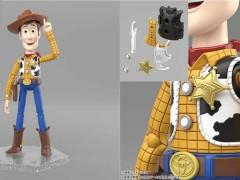 鞋底还有 ANDY 字样!《玩具总动员4》胡迪玩偶,附带多个零件让你组装拆解!