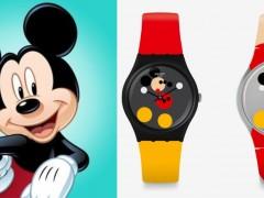 为了庆祝米老鼠 90 岁,Swatch x Damien Hirst 打造解构联名錶款!