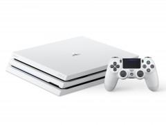 绝美白注入极简主机! PlayStation 4 Pro 主机推出第一款新色「冰河白」