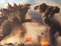 没在跟你平手!《哥吉拉大战金刚》释出两大怪兽初次见面片段,导演证实:「结局必定会分出胜负!」