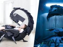 Cluvens 推出钢铁蝎子坐卧两用电竞椅!异次元科幻外型帅炸了!