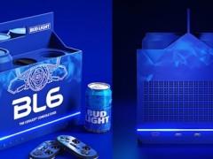 酒咖梦幻逸品!百威啤酒推出游戏主机,冰蓝外型超沁凉——还有黑科技能帮你「冰啤酒」!