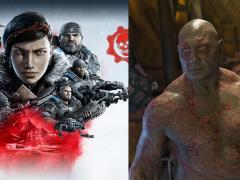 毁灭者德克斯冲进游戏世界啦!Batista 确认将成为游戏《战争机器 5 》内的可操作角色!