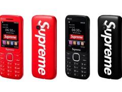 正宗 Supreme 联名手机抵加啦!满满的怀旧复古风情,只能买回家珍藏了!