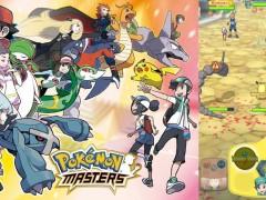 精緻游戏画面曝光!宝可梦对战手游《Pokémon Masters》将在 iOS 、 Android 双平台登场!