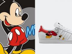 迪士尼控暴动!adidas Originals 经典小白鞋注入超可爱「米奇」图案,鼠年限定开卖还不买爆!