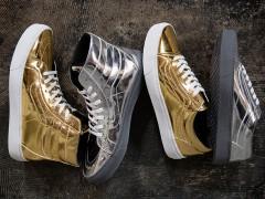 金银全包 ‧ Vans 打造 2016 秋季 Metallic 系列