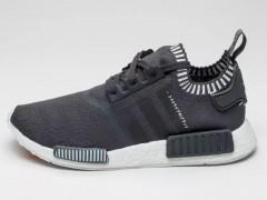 东洋风暴来袭!adidas Originals NMD_R1 Primeknit 又一灰白新配色
