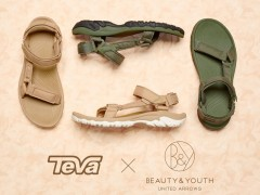 "BEAUTY&YOUTH X TEVA ""飓风 Hurricane XLT"" 联名系列"