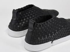 质感最高 ! 鉴赏 CASBIA SS16 黑白编织鞋款系列