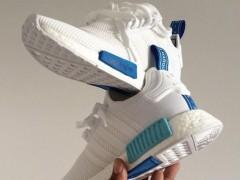 """多看伤身.但还是要鉴赏的 adidas NMD """"White/Blue"""" 实鞋美照"""