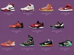 传奇一生终将谢幕.回顾 Nike 为 Kobe Bryant 所打造的所有全明星赛战靴